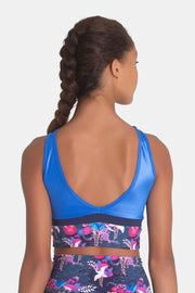 Sylvia P - Oriental Cropped Singlet Dancewear Aspire Dance Collections