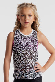 Sylvia P - Wild Side Panthera Mesh Singlet Dancewear Aspire Dance Collections