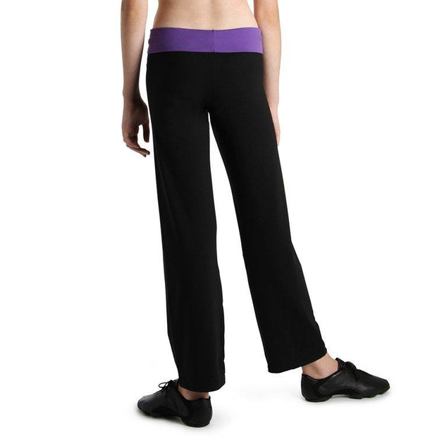 Bloch Roll Down Girls Pant
