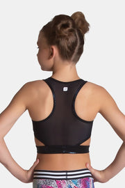 Sylvia P - Psychedelic Cropped Singlet Dancewear Aspire Dance Collections