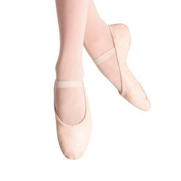 Bloch Prolite Leather Womens Ballet Flat Dance Shoes