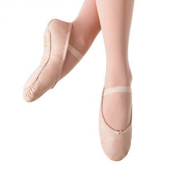 Bloch Dansoft Leather Toddlers Ballet Flat Dance Shoes