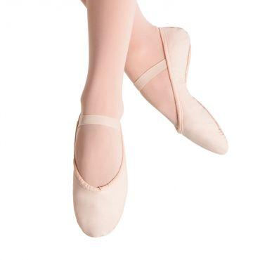 Bloch Prolite Canvas Womens Ballet Flat Dance Shoes