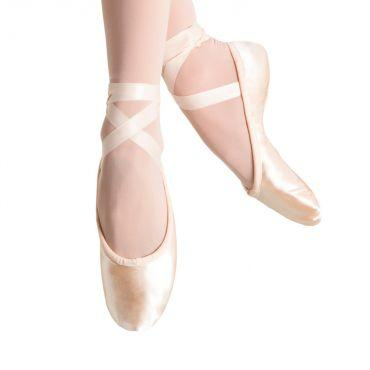 Bloch Prolite Satin Womens Ballet Flat Dance Shoes