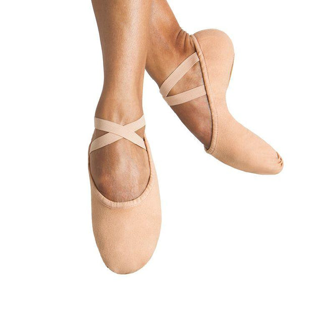 Bloch Pump Canvas Mens Ballet Flat