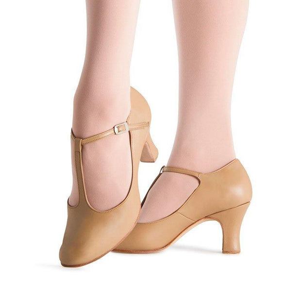 Bloch Chord T-Bar Womens 76mm (3 inch) Heel Dance Shoes