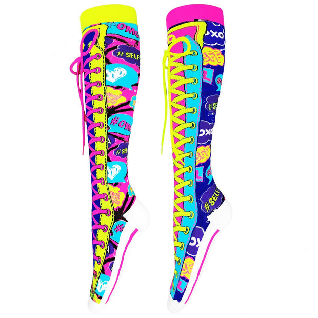 MadMia - SNAP CHAT SOCKS Dancewear