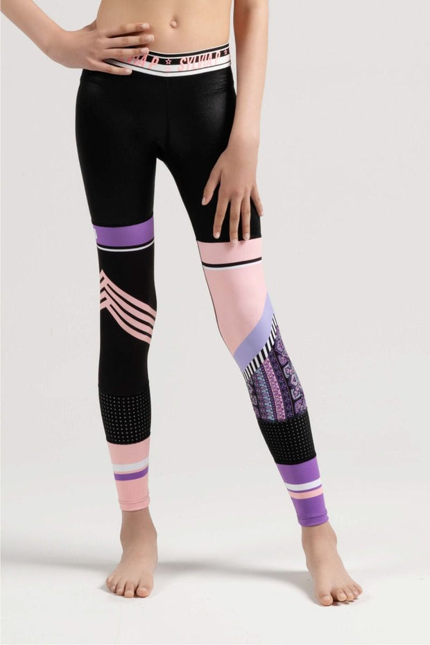 Sylvia P -  Sporty Sisters Full Length Tight Dancewear Aspire Dance Collections