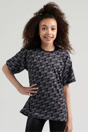Sylvia P - Game On Squad Oversized T-Shirt Dancewear Aspire Dance Collections