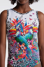 Sylvia P - Wild Side Toucan Time Leotard Aspire Dance Collections