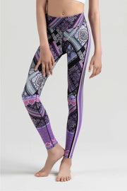 Sylvia P -  Game On Trackside Full Length Tight Dancewear Aspire Dance Collections