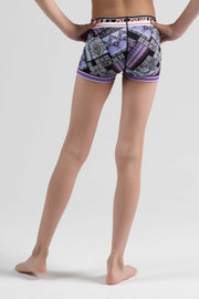Sylvia P - Game On Trackside Short Dancewear Aspire Dance Collections