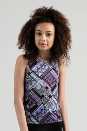 Sylvia P - Game On Trackside Singlet Dancewear Aspire Dance Collections
