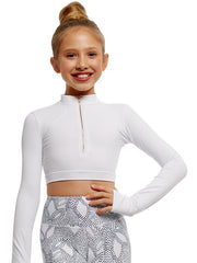 Strut Stuff - Dakota TopDancewearChild 6White
