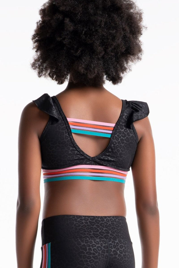 Sylvia P - Wild Side Wild Cat Crop Top Dancewear Aspire Dance Collections