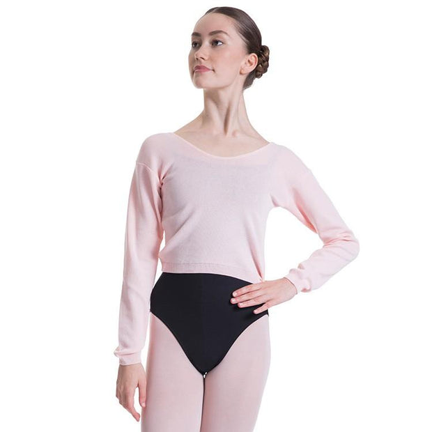 Bloch Overt Cropped Long Sleeve Womens Sweater