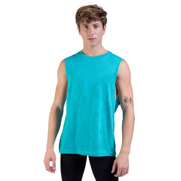 Bloch Harris Relaxed Drop Arm Mens Muscle Tank (Z0403M)