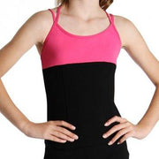 Bloch Double Cross Girls Cami Dancewear