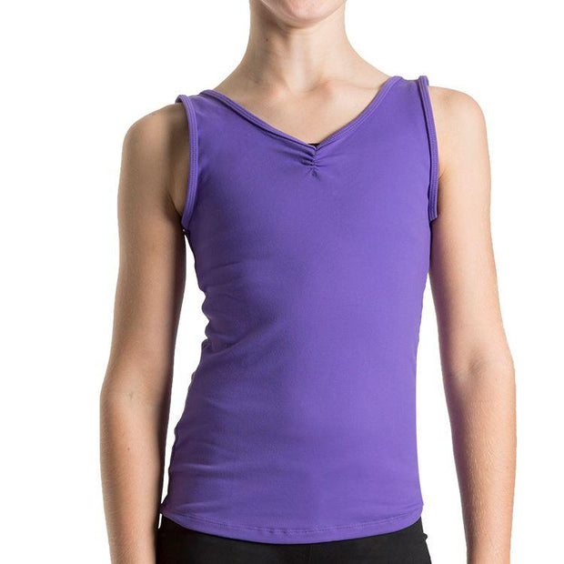 Bloch V Front Girls Tank Top