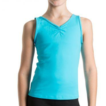 Bloch V Front Girls Tank Top Dancewear