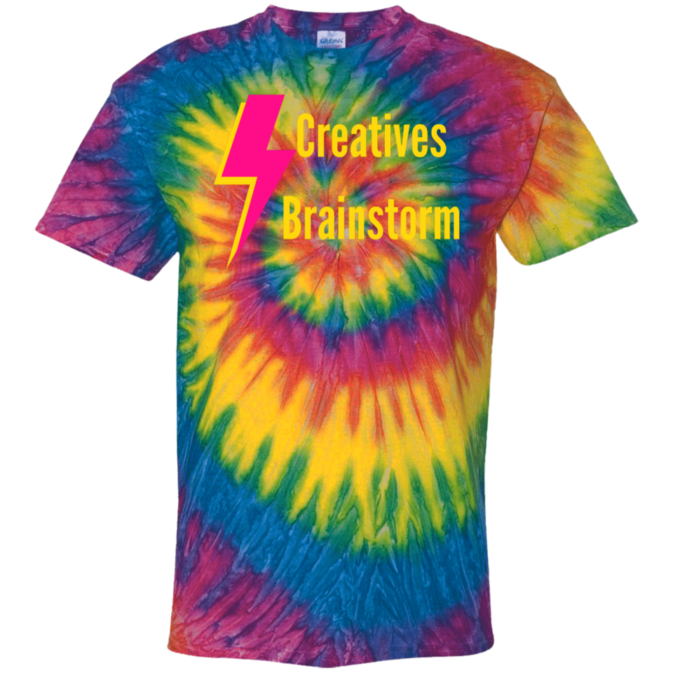 Creatives Brainstorm Tie Dye T-Shirt