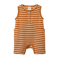 Nature Baby - Camper Suit - Harvest Sailor Stripe