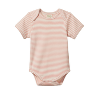 Nature Baby - S/S Bodysuit - Lily Stripe