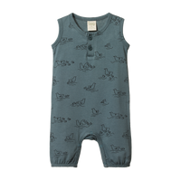 Nature Baby - Summer Suit - Pond Print