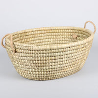 Trade Aid - Large Oval Kaisa Basket