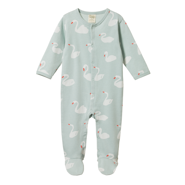 Nature Baby - Stretch & Grow - Swan Print