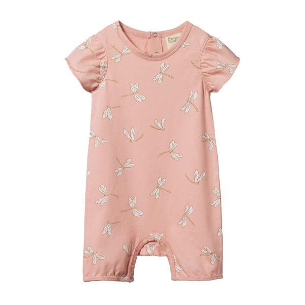 Nature Baby - Tilly Suit - Dragonfly Lily Print