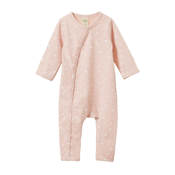 Nature Baby - Dreamlands Suit - Stardust Rose Bud Print