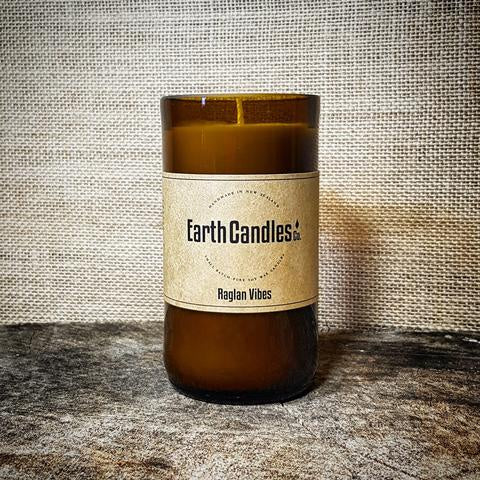 Earth Candles - Beer Bottle Candle 200g