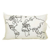 Trade Aid - World Map Pillowcase