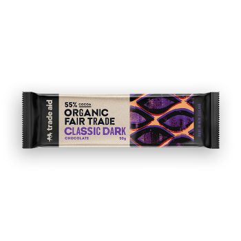 Trade Aid - Organic 55% Classic Dark Chocolate – 50g