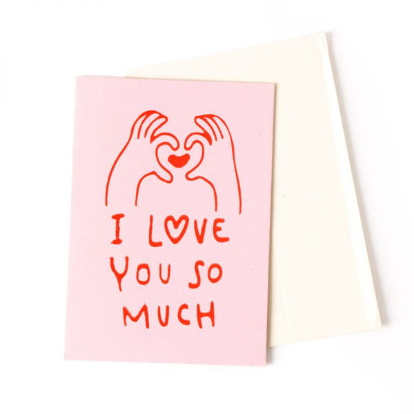 Trade Aid - I Love You So Much Card