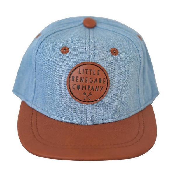 Denim & Tan Cap