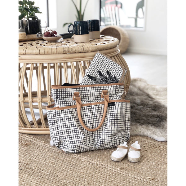 Monochrome Nappy Bag