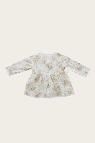 Jamie Kay - Organic Cotton Wrap Top - Esme Floral