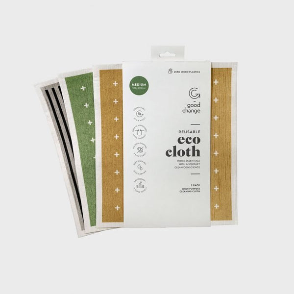 Good Change - Eco Cloth Medium 3pk