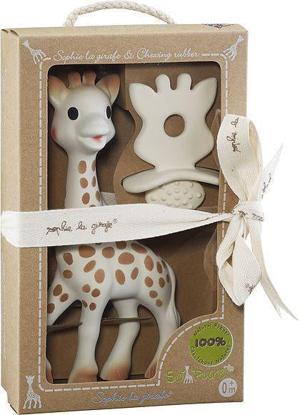 Sophie la Girafe - So Pure Natural Teether Set