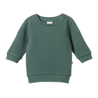 Nature Baby - Augie Sweater - Olive