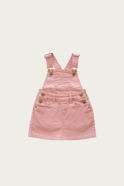 Jamie Kay - Denim Chloe Overall Dress - Rose