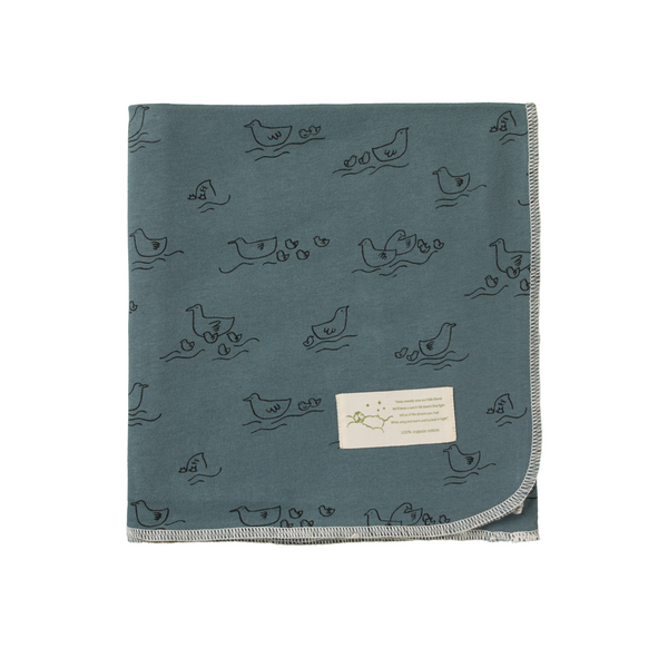 Nature Baby - Cotton Wrap - Pond Print