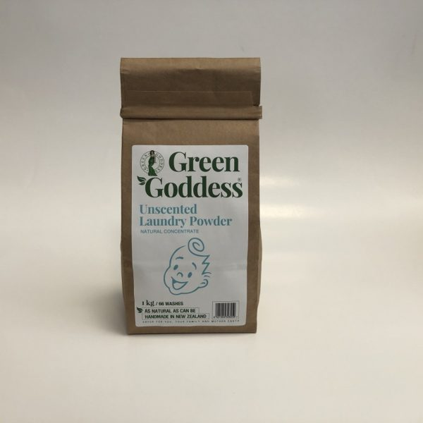 Green Goddess - Natural Laundry Powder Unscented Concentrate 1L