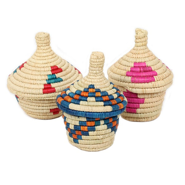 Trade Aid - Mini Basket with Lid