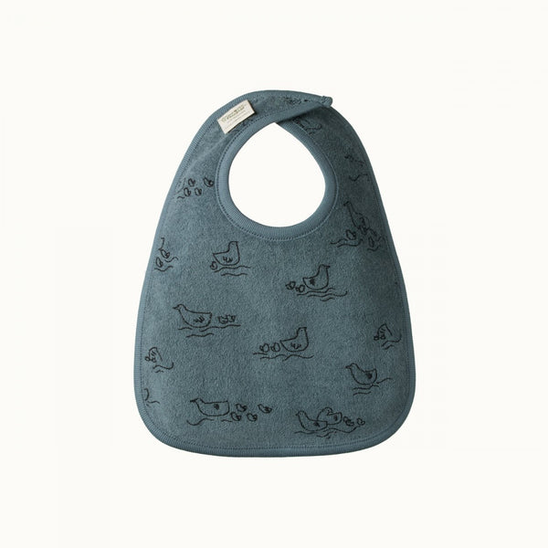 Nature Baby - Reversible Bib - Pond Print