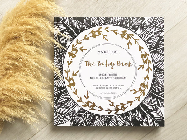 The Baby Book Limited Edition - Monochrome Collection
