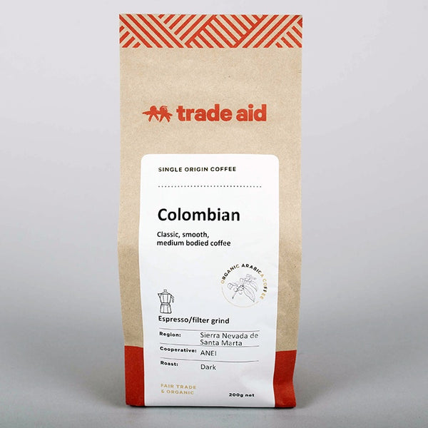 Trade Aid - Colombian Ground Coffee
