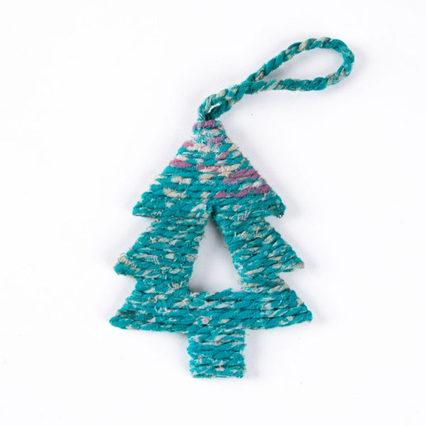 Trade Aid - Sari Christmas Tree Hangings